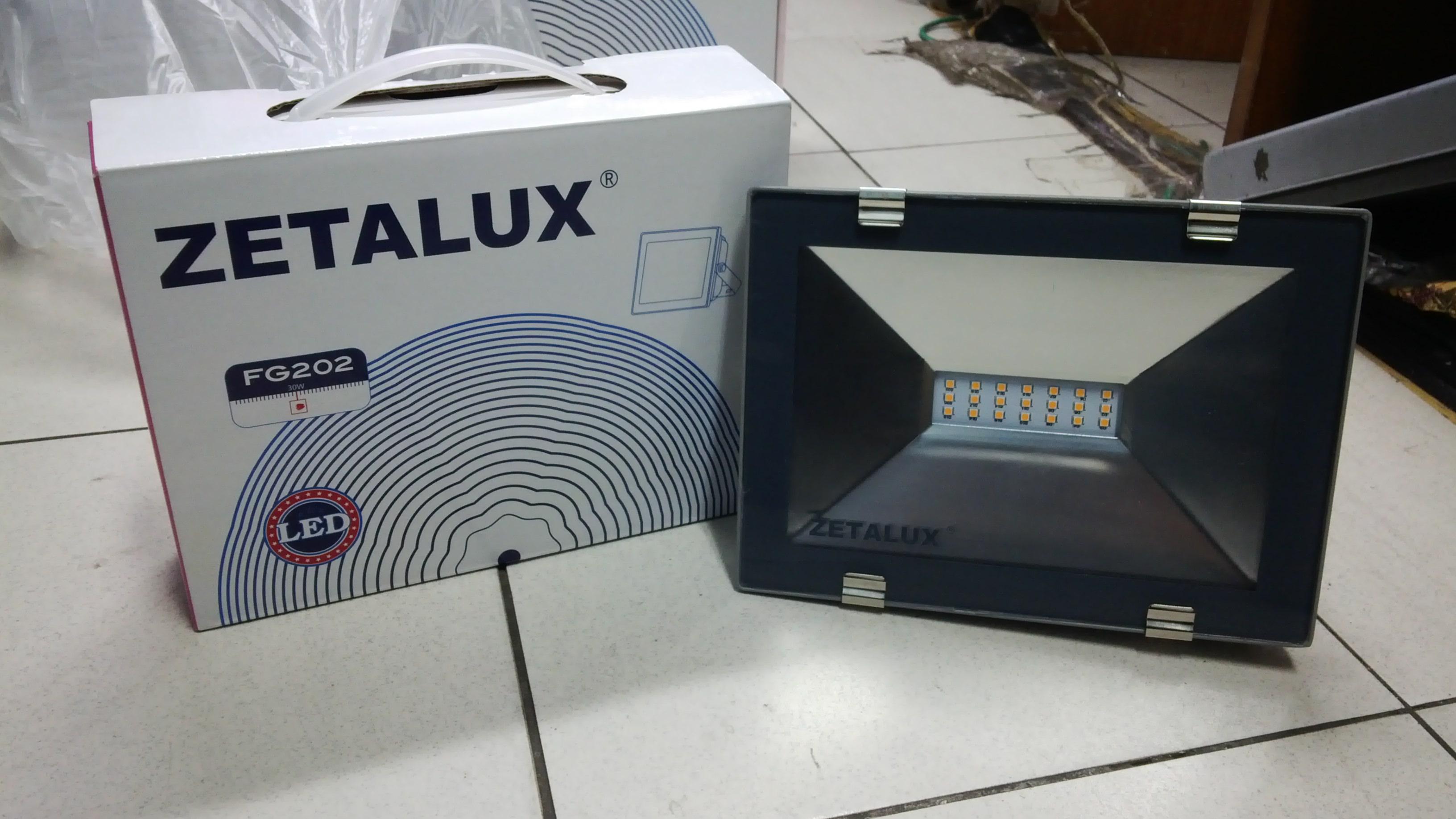 Lampu Sorot Led 100w 30 Watt Zetalux